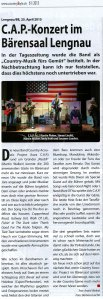 Artikel CountryStyle 61/2015
