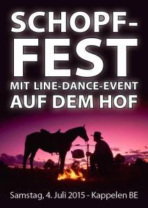 Flyer Schopf-Fest